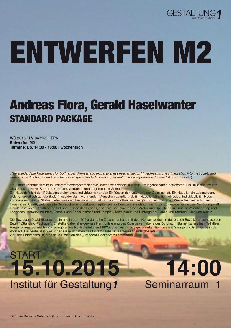 EM2: STANDART PACKAGE Studio Winter 2015 - Institut für Gestaltung ...